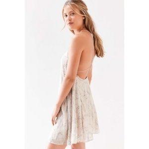 NEW ✨ Urban Outfitters Burnout Chiffon Dress M